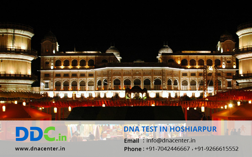 DNA Test in Hoshiarpur