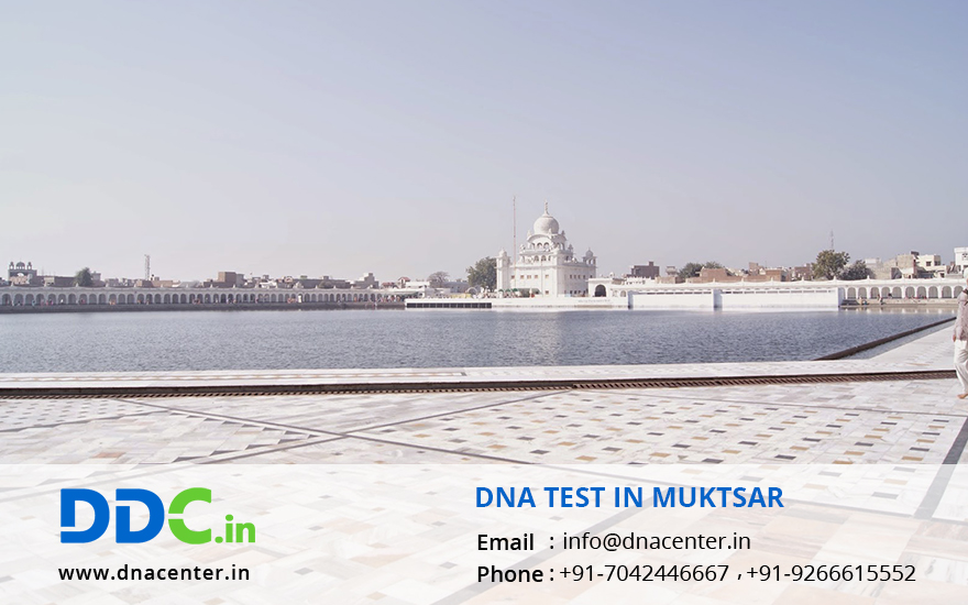DNA Test in Muktsar
