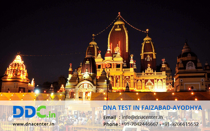 DNA Test in Faizabad-Ayodhya
