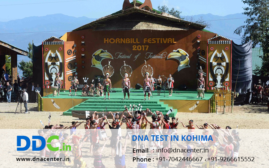 DNA Test in Kohima
