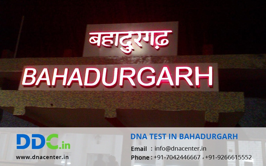 DNA Test in Bahadurgarh